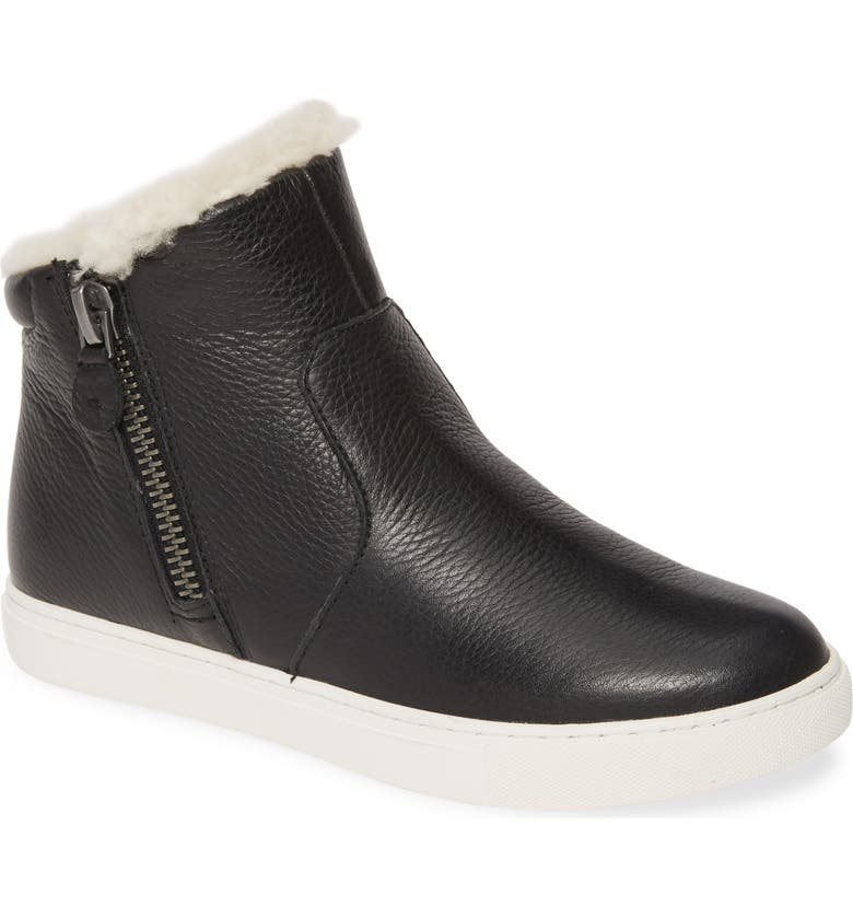 GENTLE SOULS BY KENNETH COLE Carter Genuine Shearling Lined Bootie, Main, color, 001