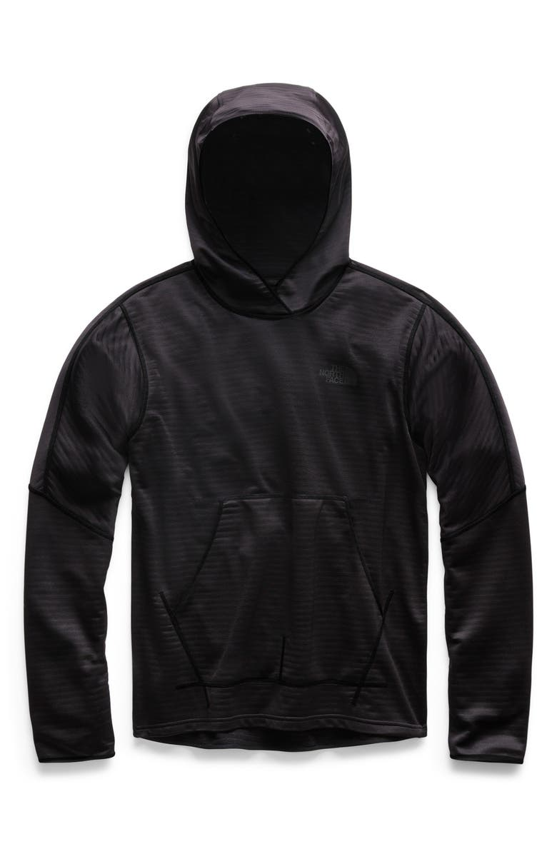 THE NORTH FACE Echo Rock Slim Fit Pullover Hoodie, Main, color, TNF BLACK