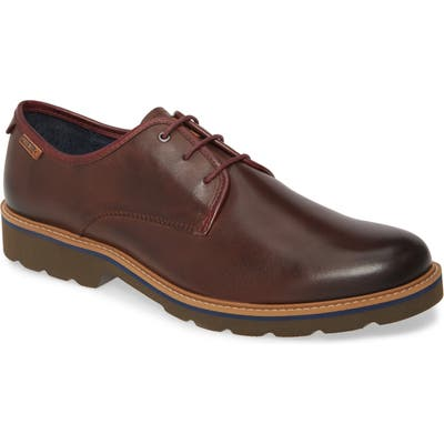 Pikolinos Bilbao Plain Toe Derby - Brown