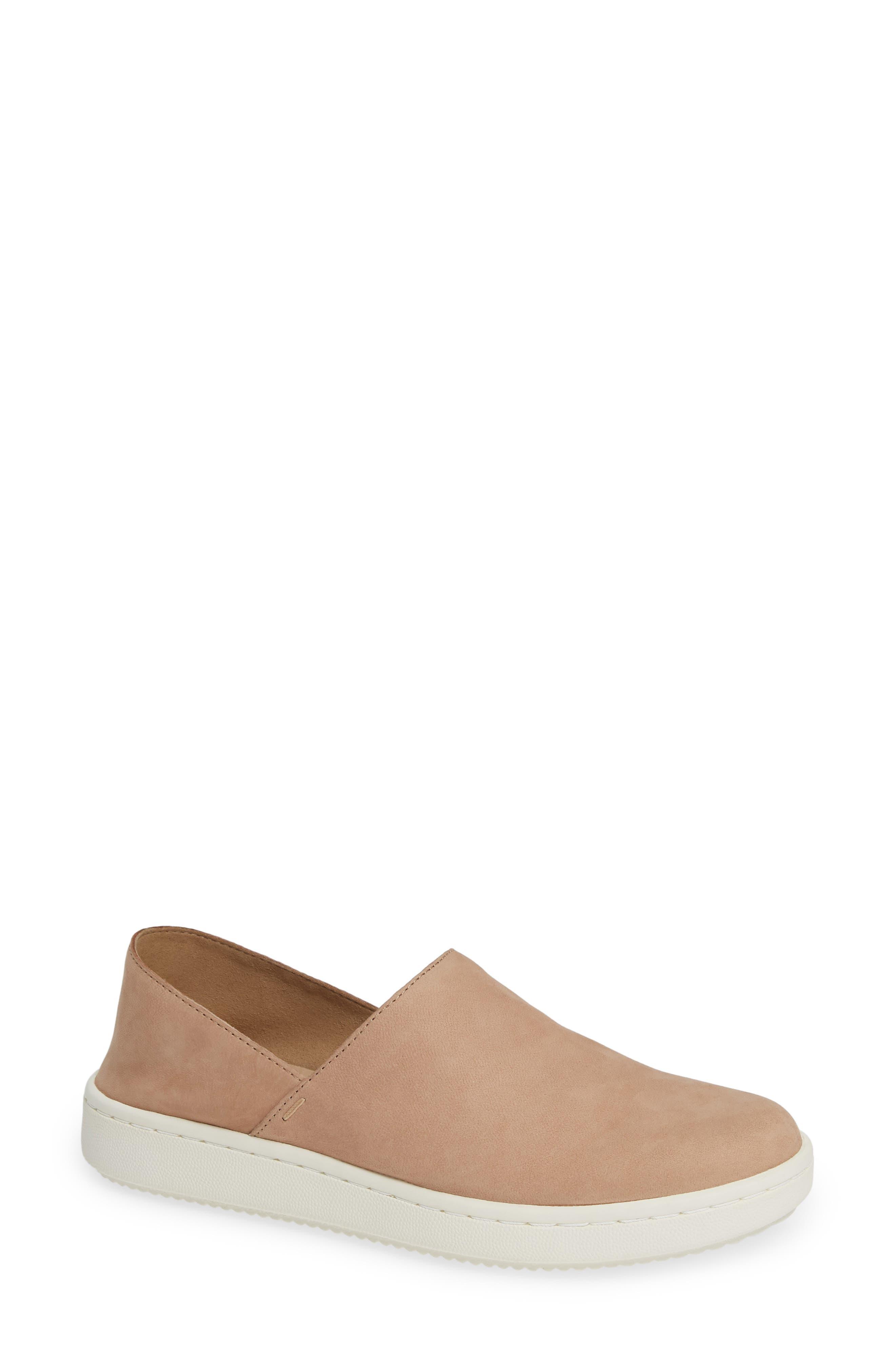 Eileen Fisher Panda Ii Slip-On Sneaker- Beige