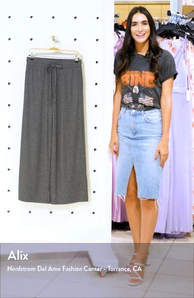 Wide Leg Lounge Pants, sales video thumbnail