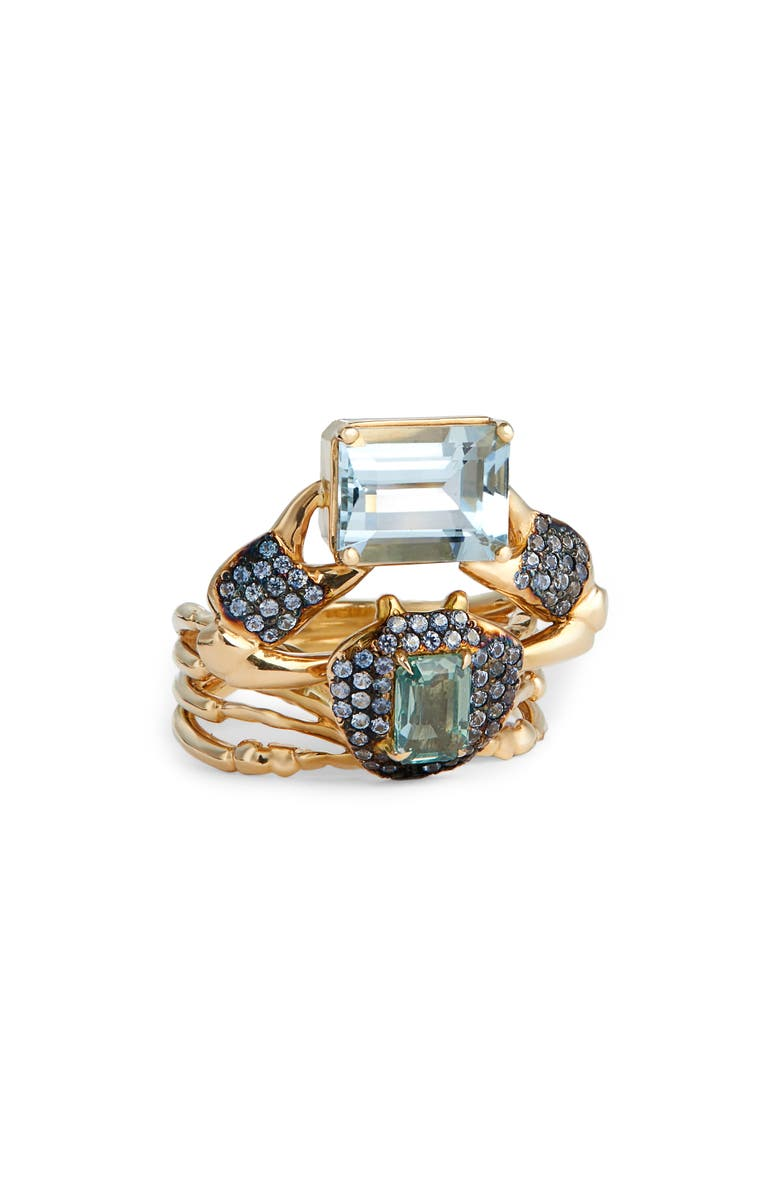 DANIELA VILLEGAS Wirnpa Ring, Main, color, YELLOW GOLD