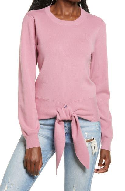 Wayf Sweaters MILO TIE HEM SWEATER