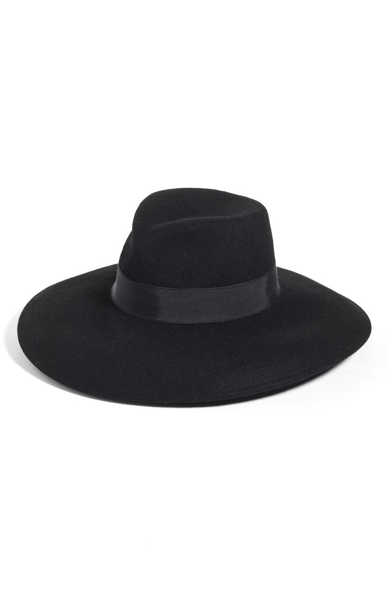 ERIC JAVITS Camille Wool Floppy Hat, Main, color, 001
