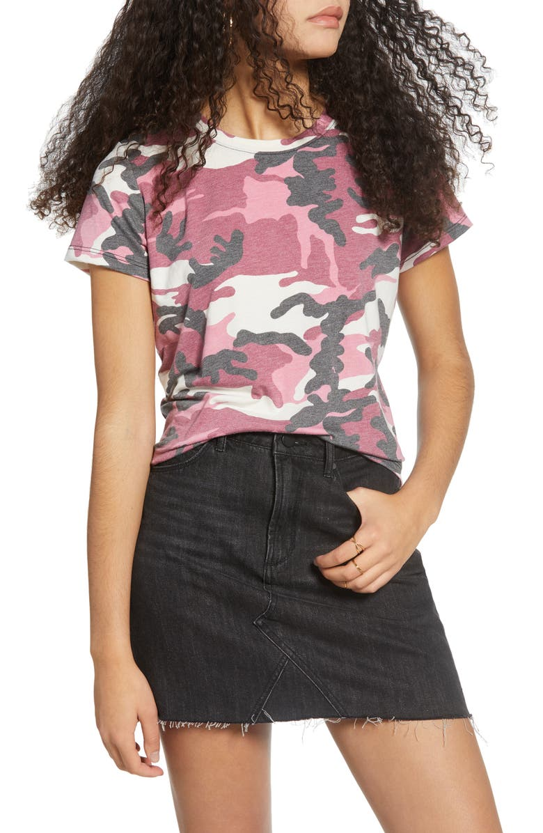 PRINCE PETER Camouflage Tee, Main, color, ORCHID CAMO