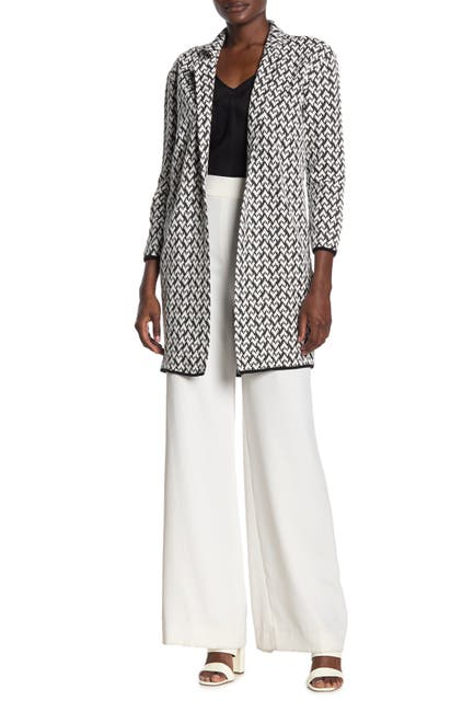 Image of Philosophy Apparel Jacquard Knit Patterned Jacket