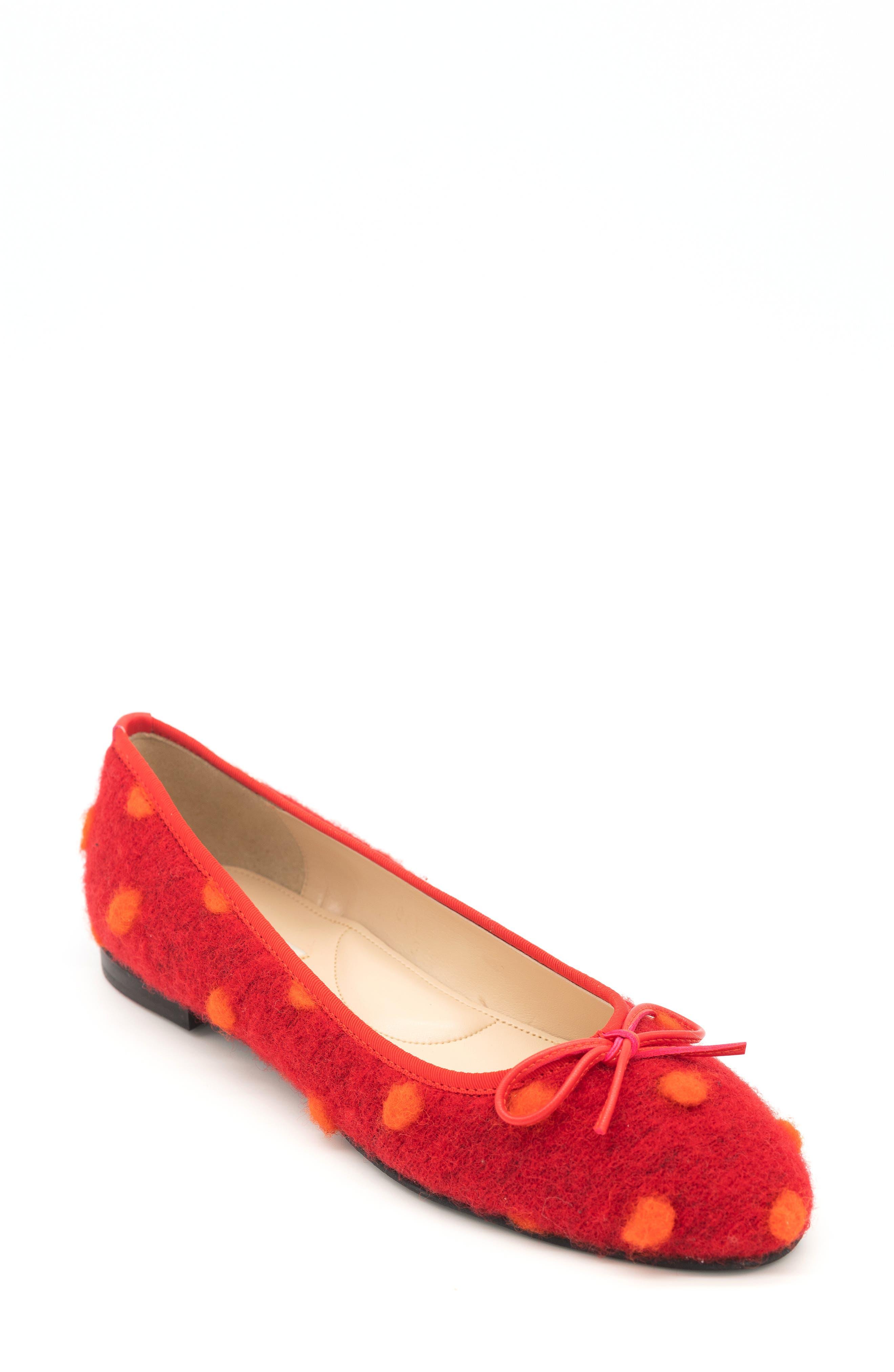 Pavlova Polka Dot Ballet Flat