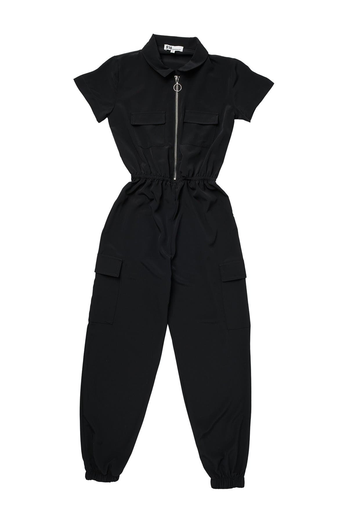Image of Freshman Short Sleeve Jumpsuit