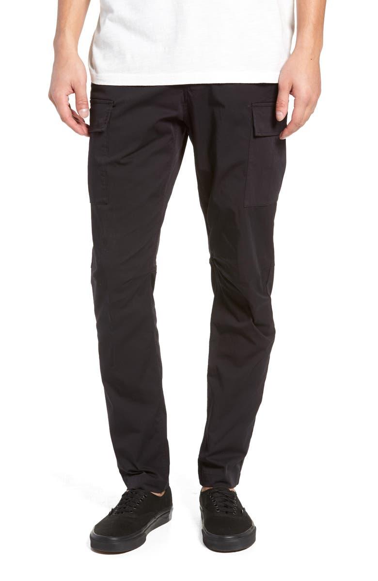 WINGS + HORNS Cordura Slim Fit Cargo Pants, Main, color, 001