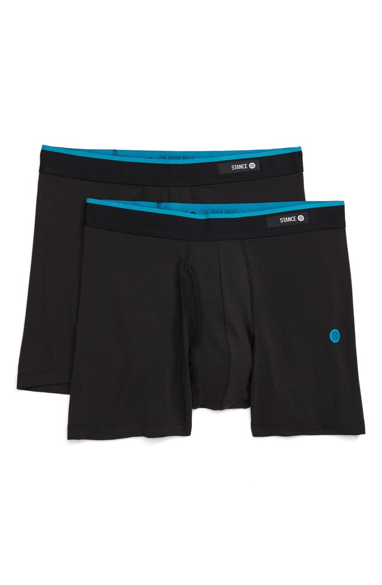 STANCE Staple 2-Pack Boxer Briefs, Main, color, 001