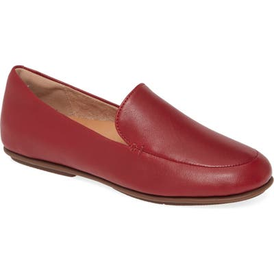 Fitflop Lena Loafer, Burgundy