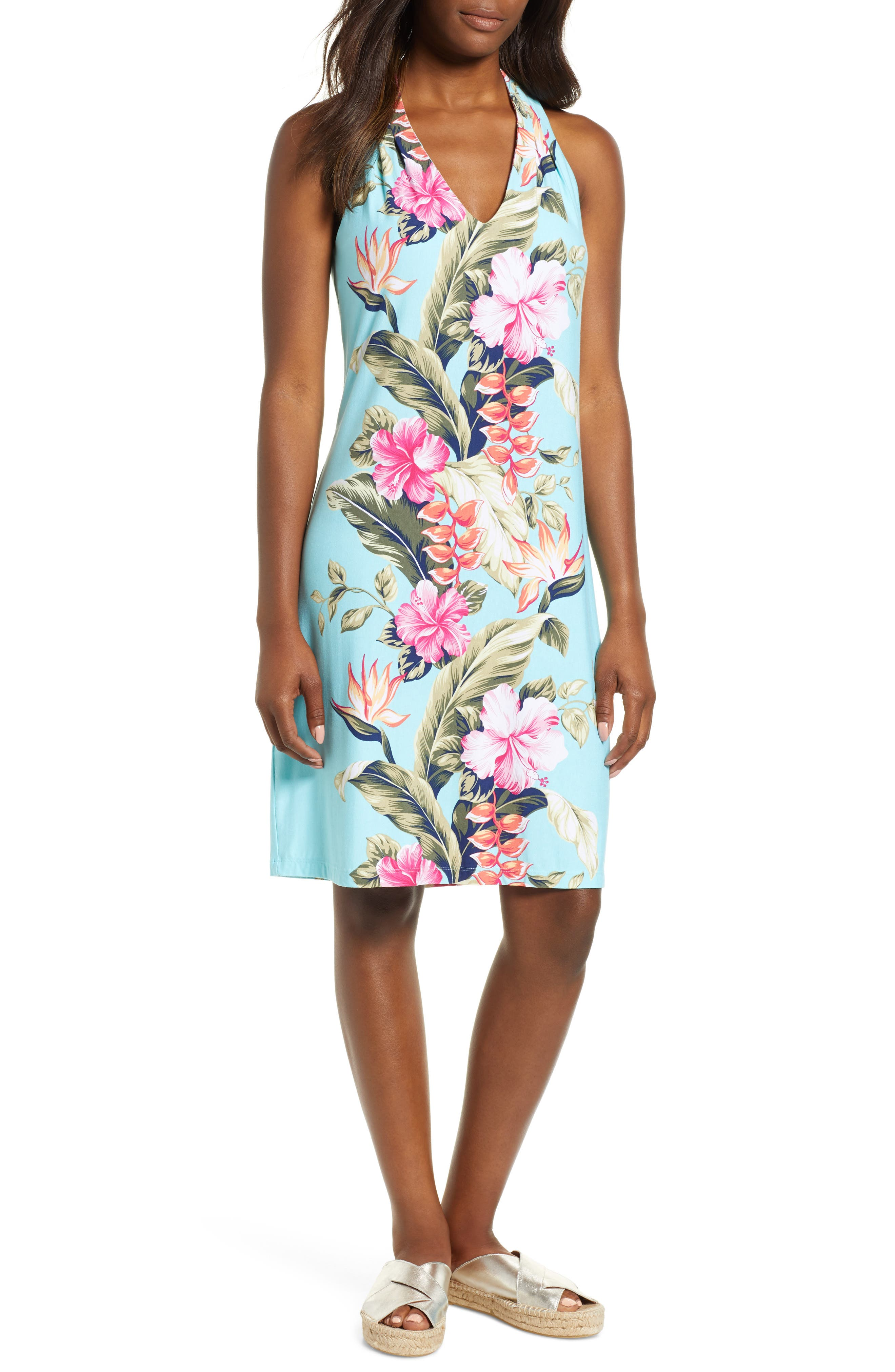 Tommy Bahama Kahuna Cascade Dress, Blue