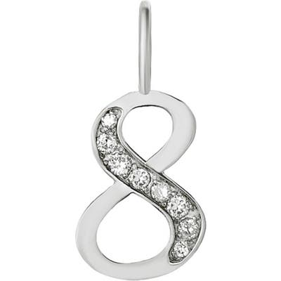 Mini Mini Jewels Diamond Number Pendant