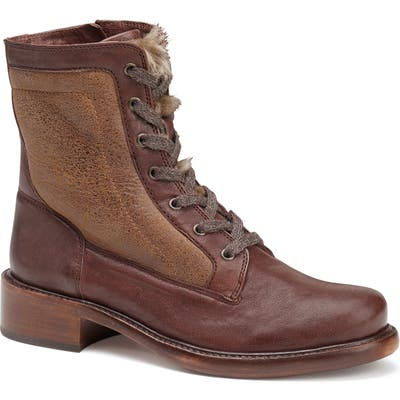 Trask Brett Combat Boot, Brown