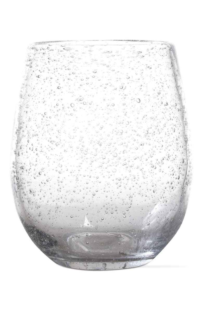 TAG Bubble Stemless Wine Glass, Main, color, 100