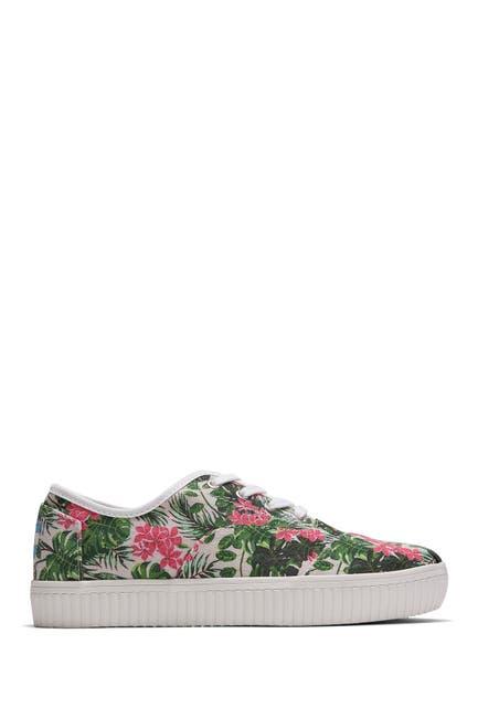 Image of TOMS Cordones Indio Floral Sneaker