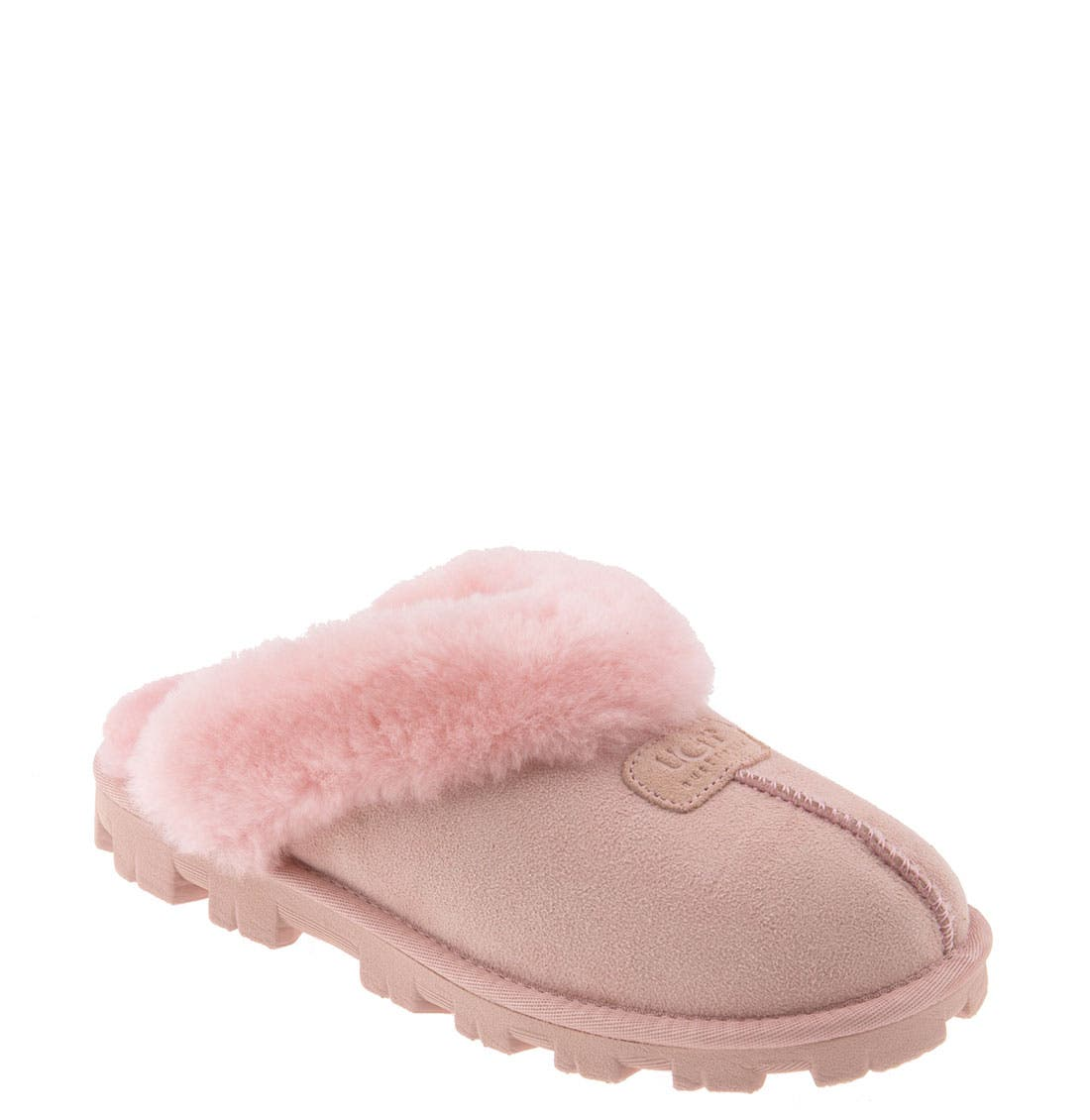 ,                             Genuine Shearling Slipper,                             Main thumbnail 178, color,                             LPK