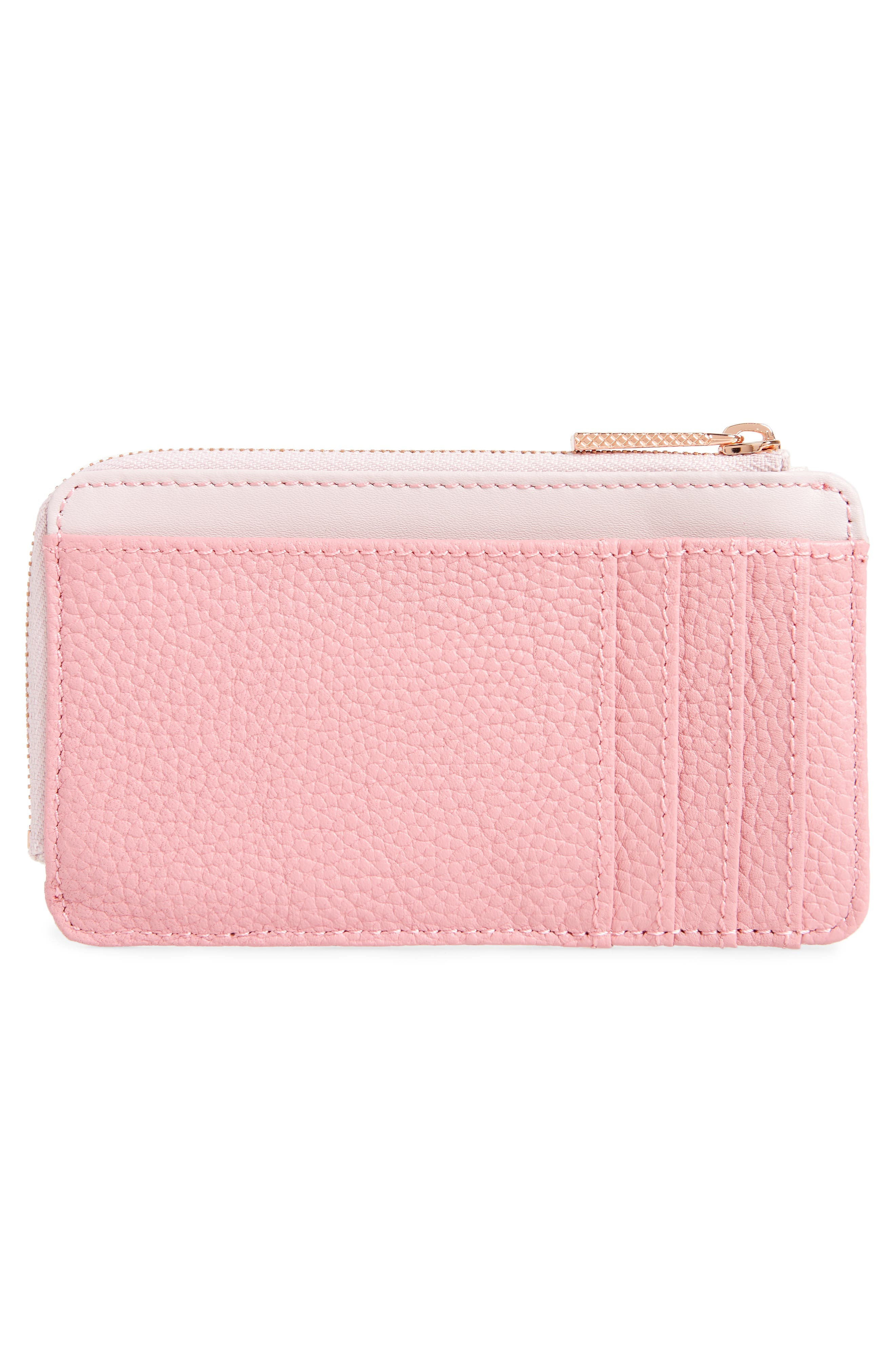 ,                             Lotta Bow Leather Card Case,                             Alternate thumbnail 8, color,                             650