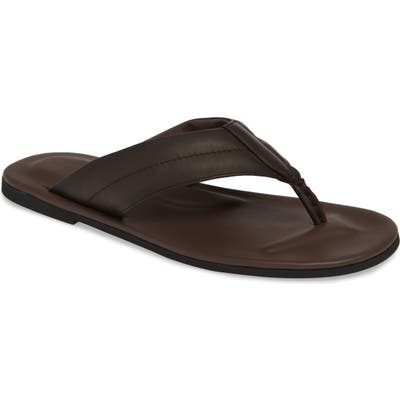 To Boot New York Grande Flip Flop, Brown