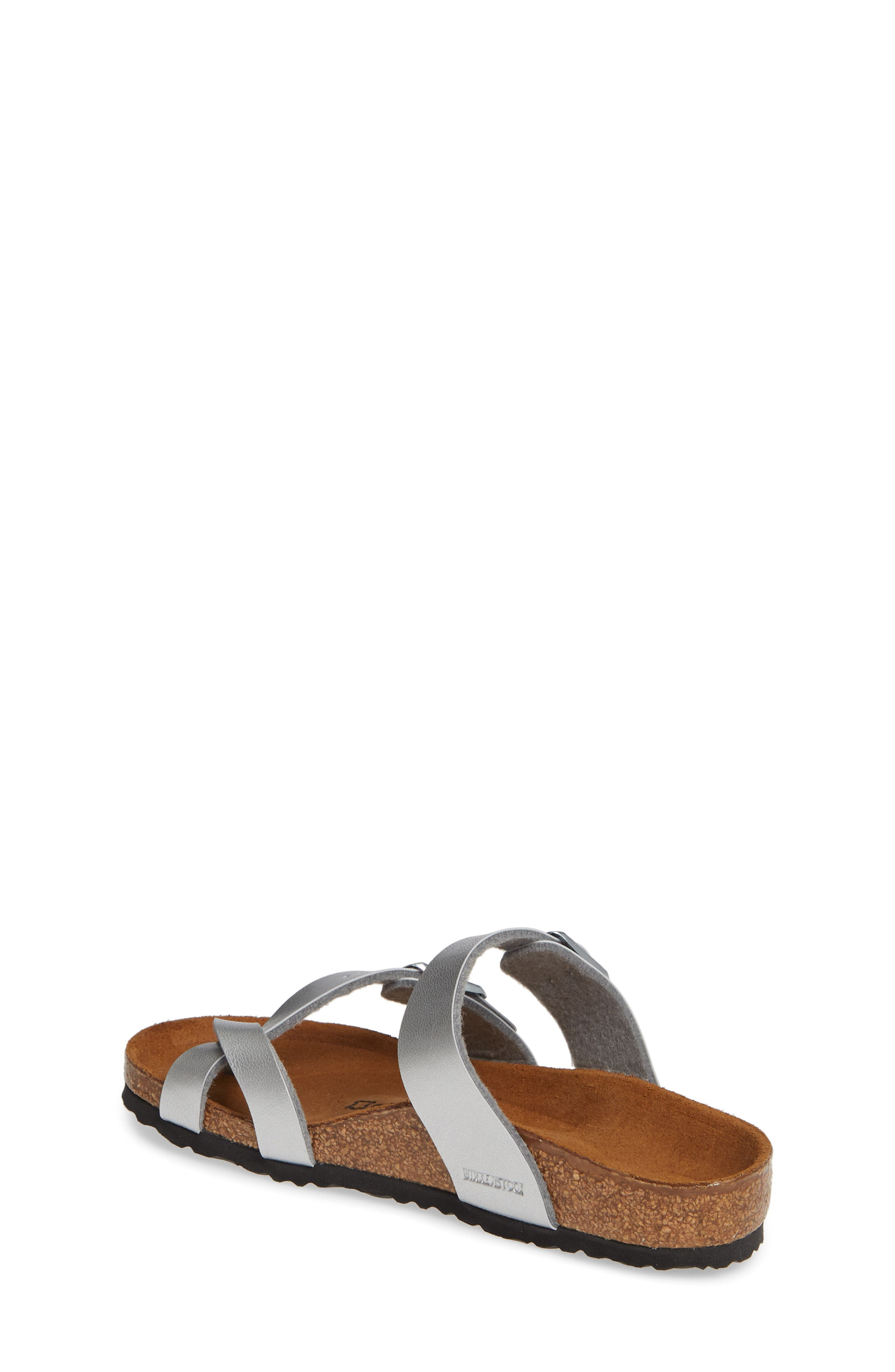 ,                             Mayari Birko-Flor<sup>™</sup> Sandal,                             Alternate thumbnail 2, color,                             SILVER
