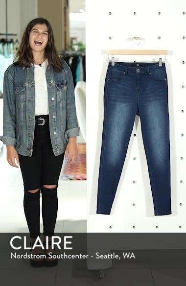 Butter High Waist Skinny Ankle Jeans, sales video thumbnail
