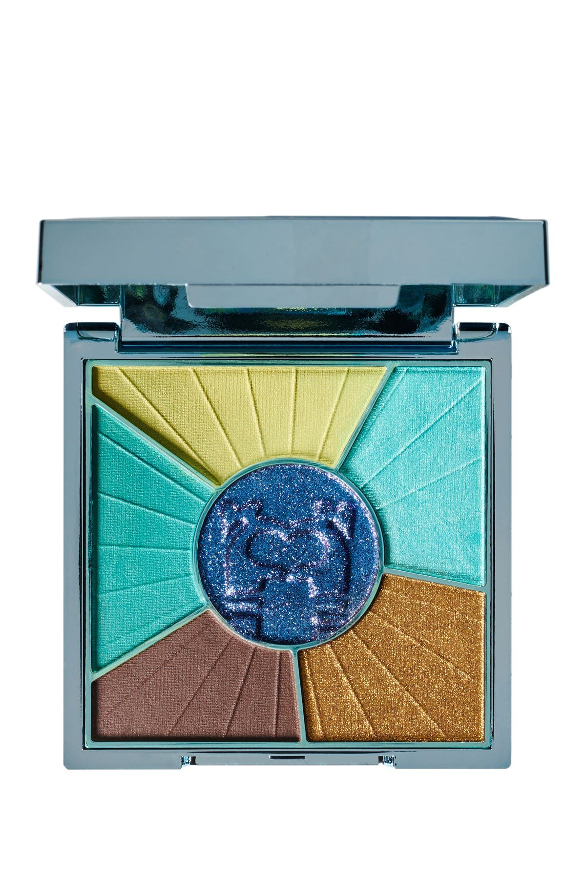 Image of PUR Cosmetics x TROLLS WORLD TOUR: Travel-Sized Pressed Pigments Palette - Techno