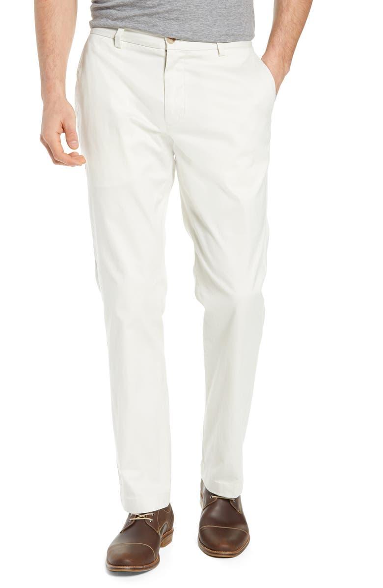 VINEYARD VINES Breaker Straight Leg Pants, Main, color, STONE