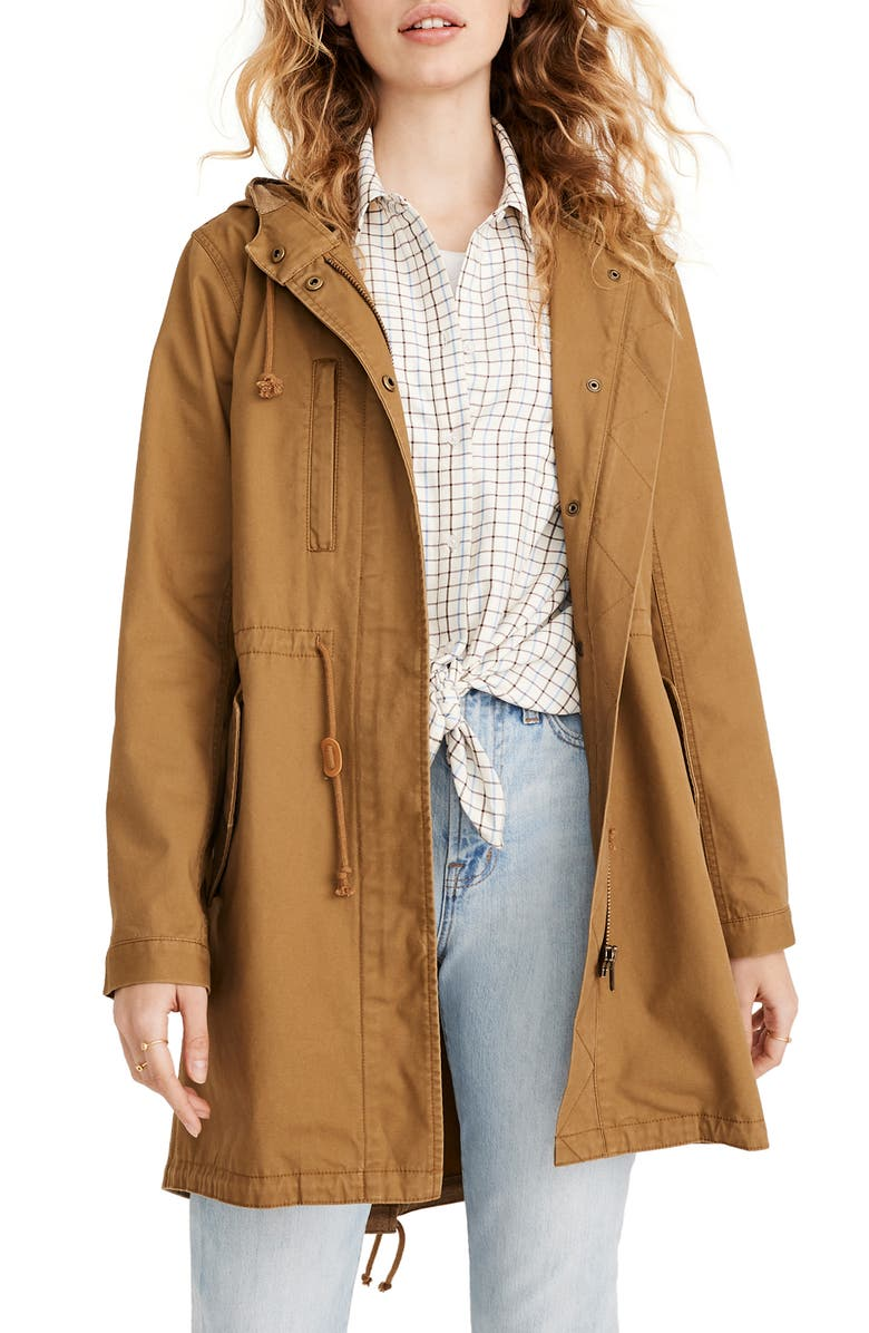 MADEWELL Fishtail Anorak, Main, color, 200