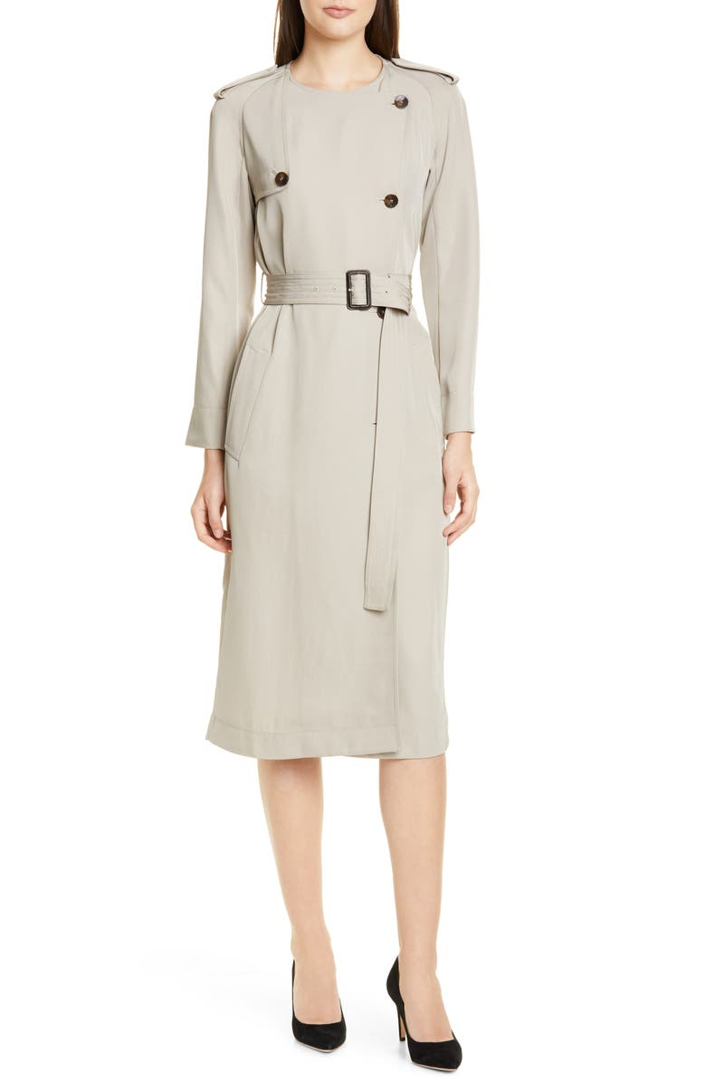 BOSS Dayada Long Sleeve Dress, Main, color, 267