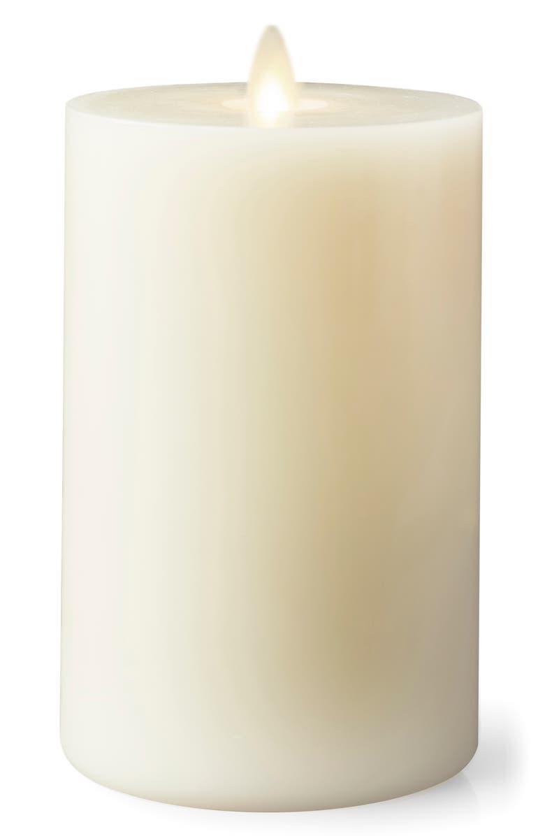 LIGHTLI Moving Flame LED Candle, Main, color, IVORY