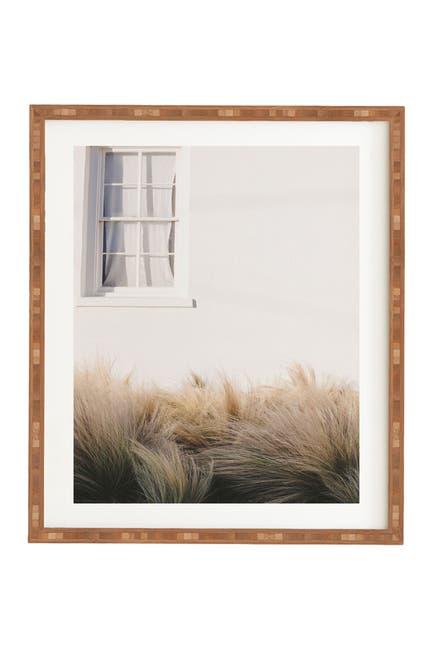 Image of Deny Designs Ann Hudec Marfa Minimalism Bamboo Framed Art
