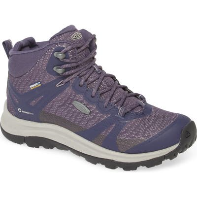 Keen Terradora Ii Waterproof Winter Hiking Boot- Purple