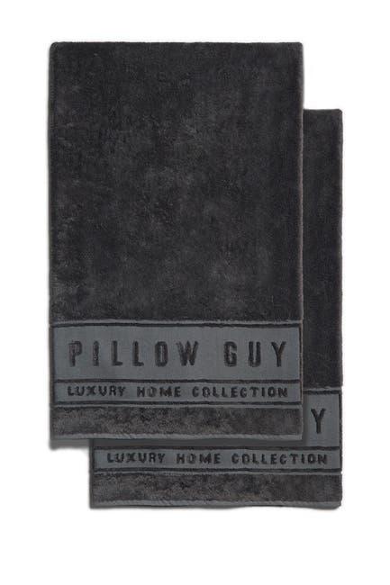 "Image of Pillow Guy Charcoal Ultimate Oversized Bath Towel - 39"" x 68"" - Set of 2"