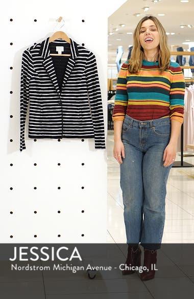 One-Button Knit Blazer, sales video thumbnail