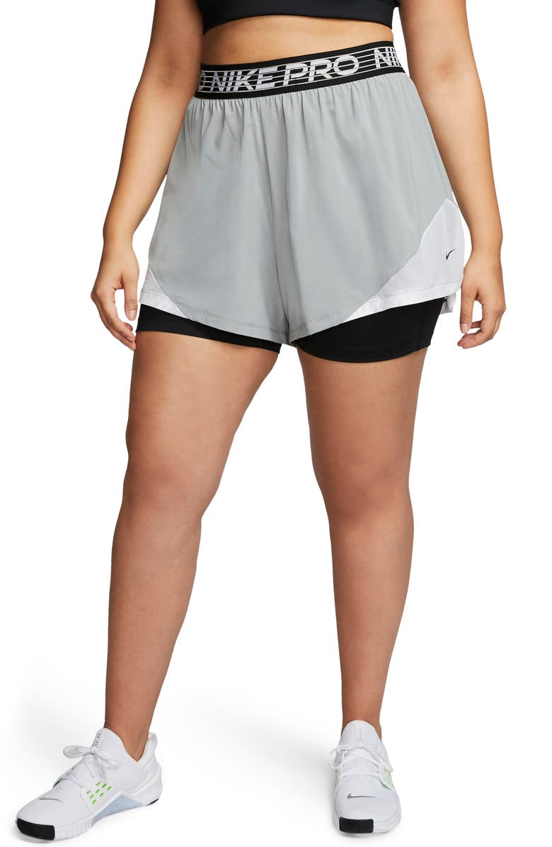 NIKE Pro Flex 2-in-1 Woven Shorts, Main, color, 073