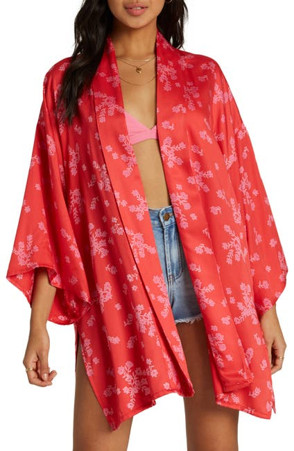 Image of Billabong Kola Printed Kimono