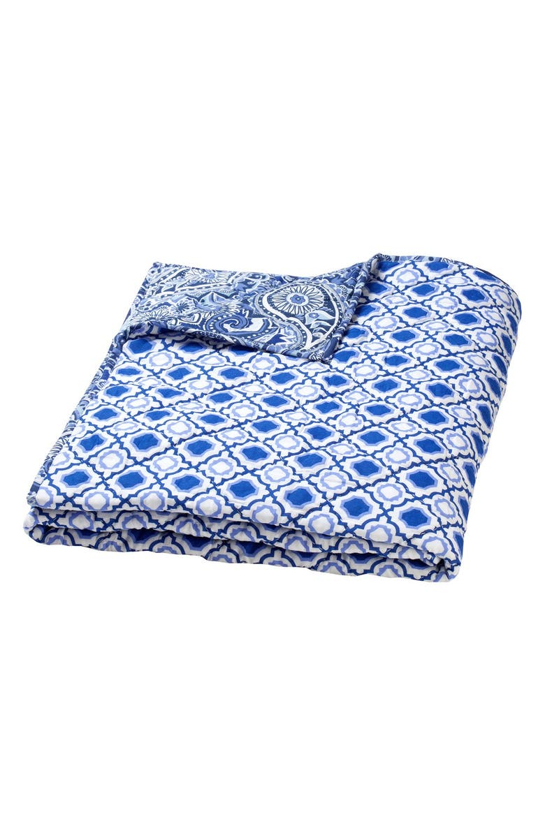 MASALA BABY Masalababy Reversible Cotton Quilt, Main, color, 400