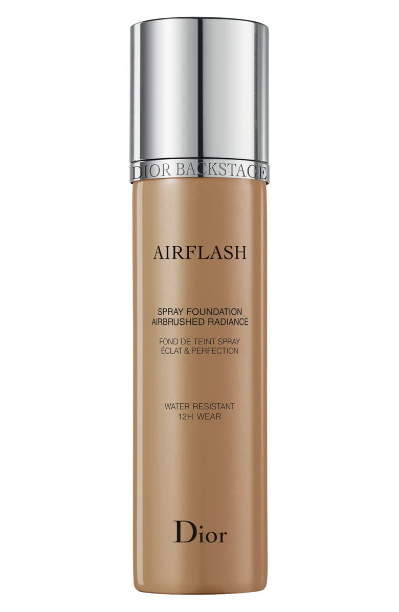 DIOR Diorskin Airflash Spray Foundation, Main, color, 4 WARM OLIVE