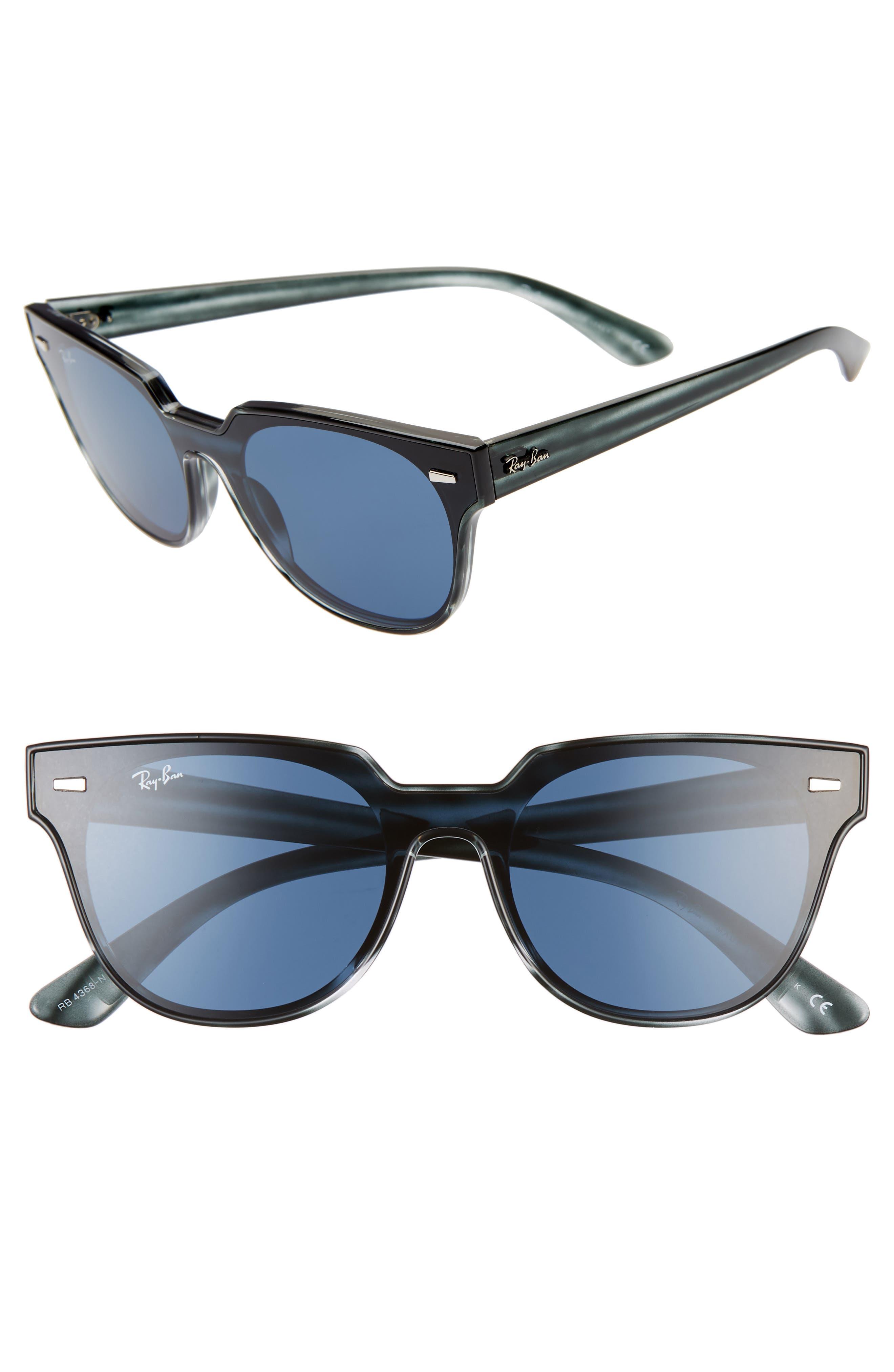 Ray-Ban Wayfarer 51Mm Sunglasses - Striped Blue Havana