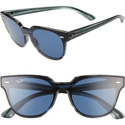 Ray-Ban Wayfarer 51Mm Sunglasses - Striped Blue Havana
