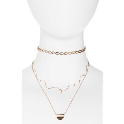 Bp. Layered Pendant Necklace