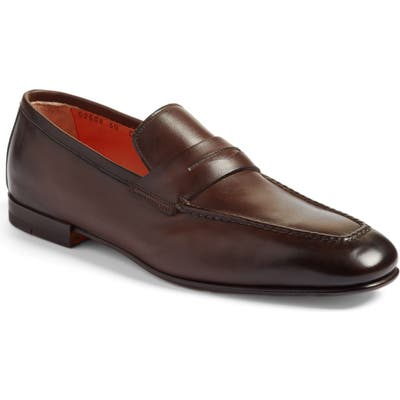 Santoni Fox Packable Penny Loafer