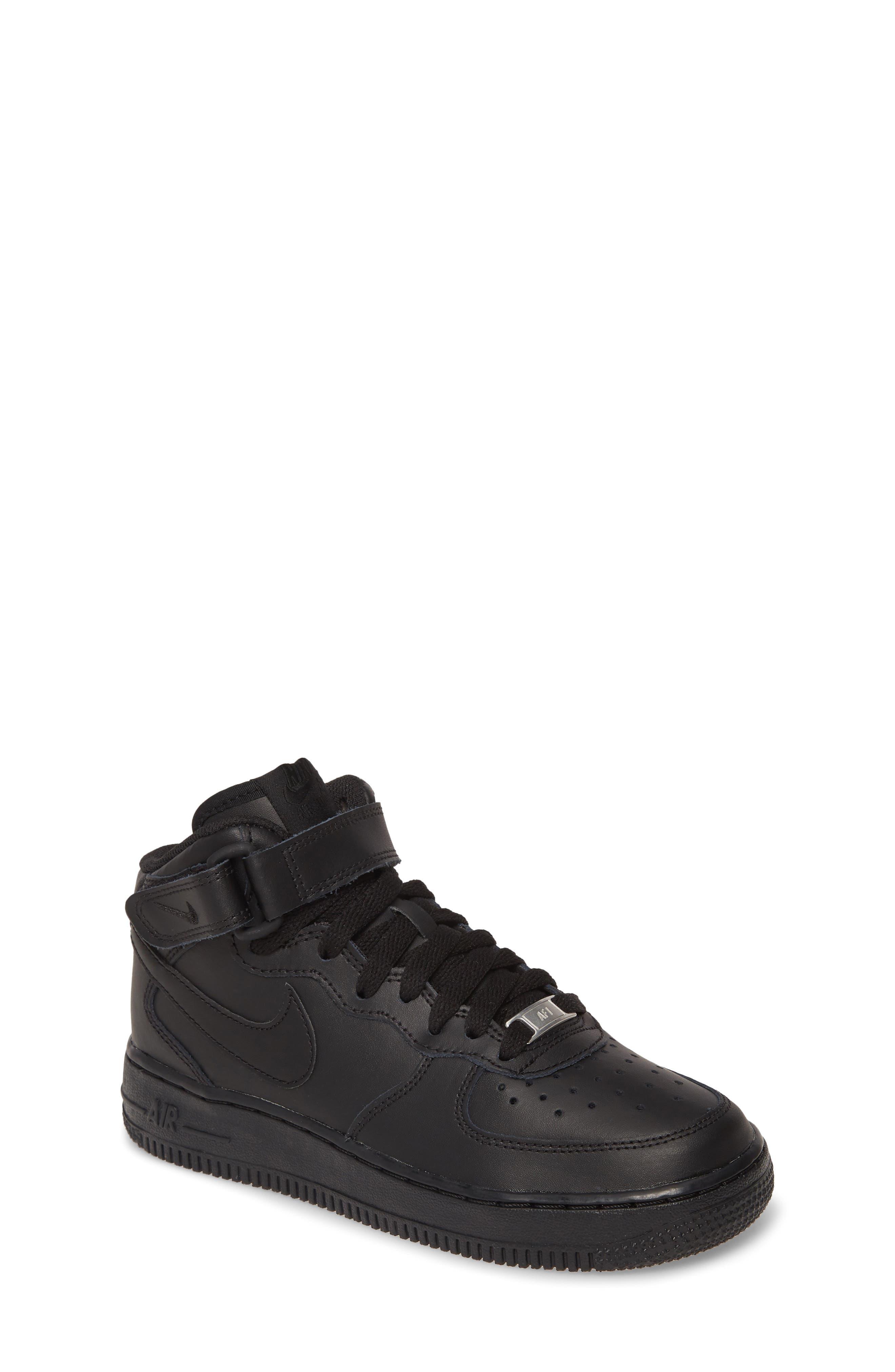 Nike Little Kids Air Force 1 Mid Basketball Shoe
