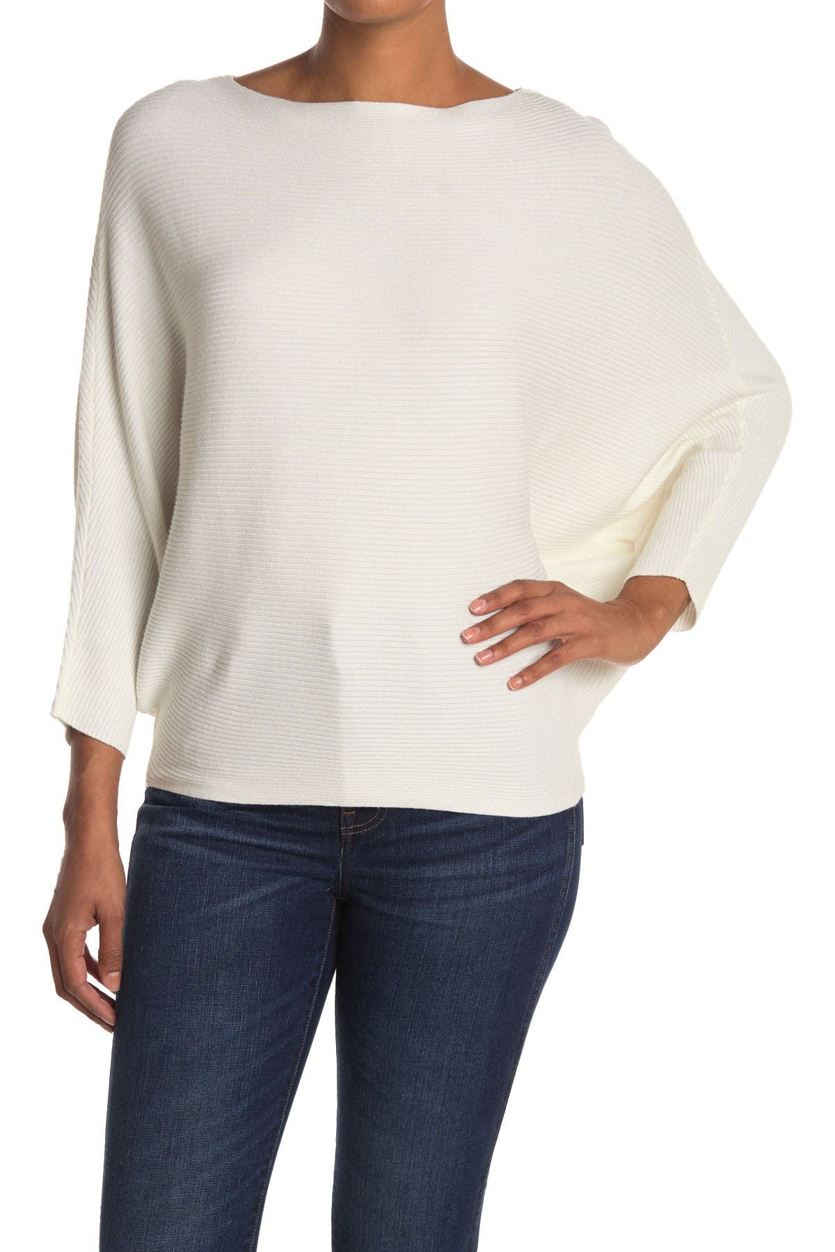 Image of Cloth By Design Dolman Ribbed Pullover