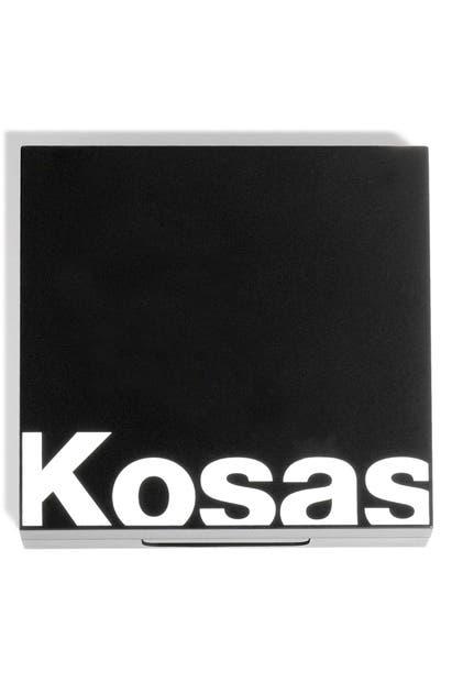 Kosas Color & Light Cream Blush & Highlighter Palette In Velvet Melon High Intensity