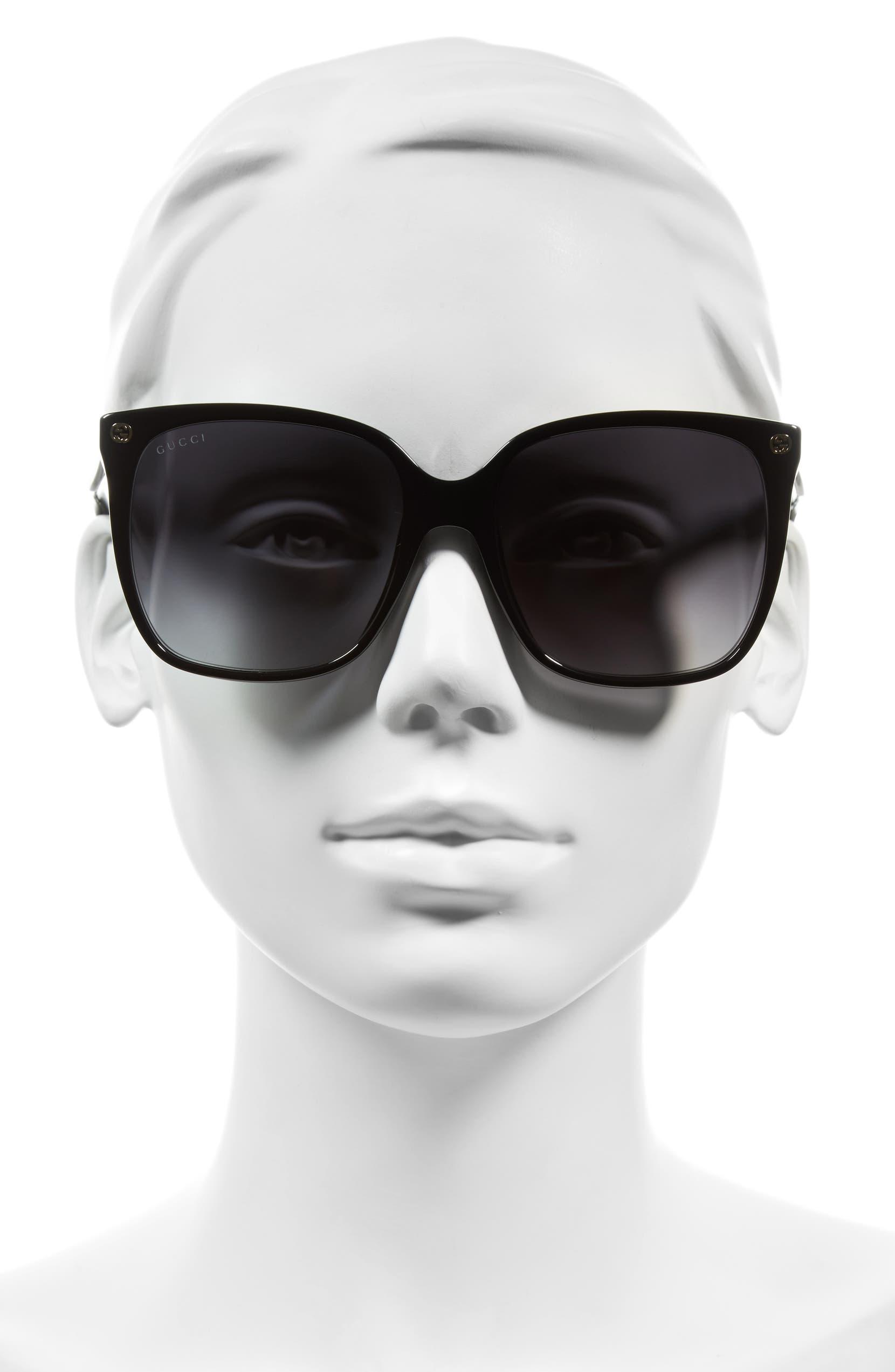 2823ed7e8 Gucci 57mm Square Sunglasses | Nordstrom