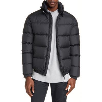 1017 Alyx 9Sm Down Puffer Coat, Black