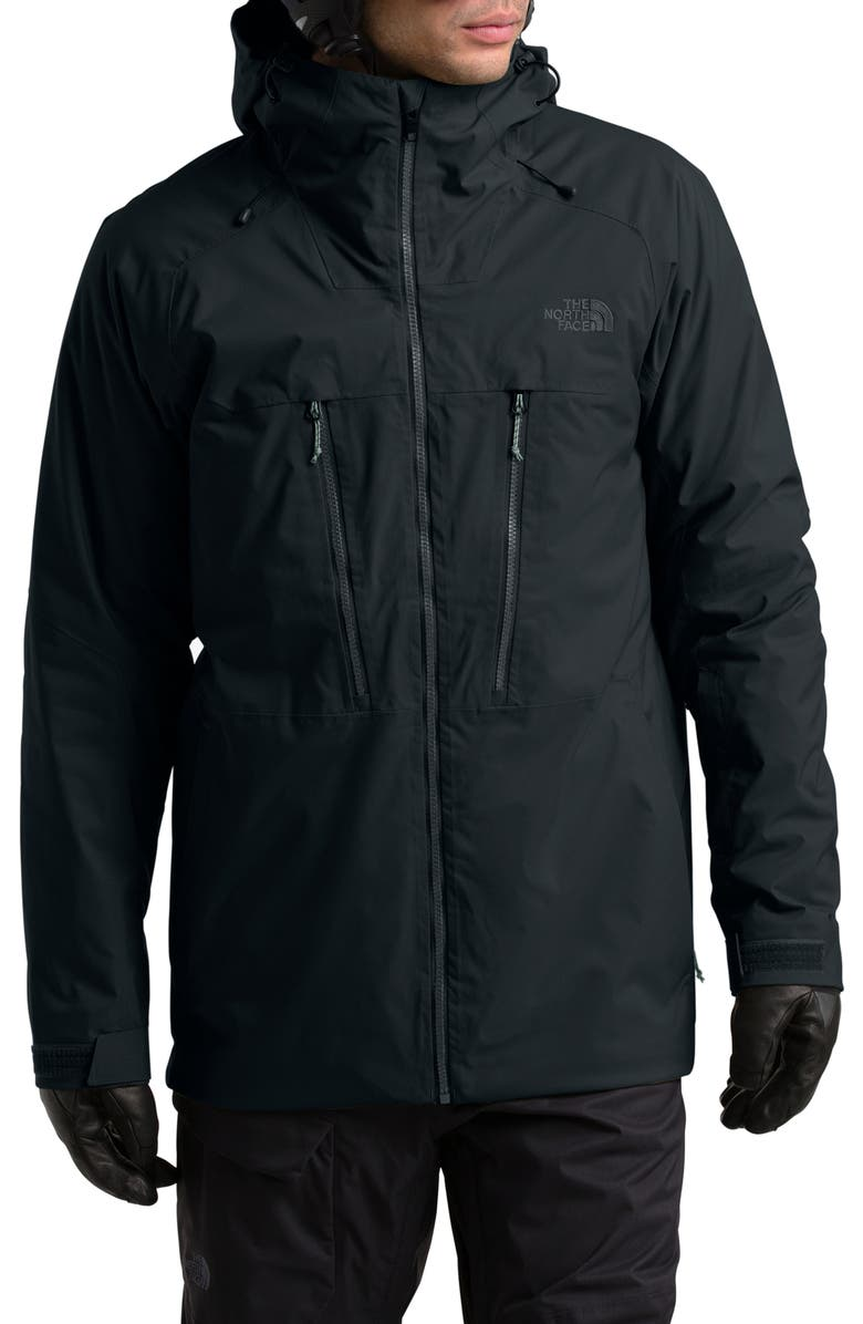 THE NORTH FACE ThermoBall<sup>™</sup> Eco TriClimate<sup>®</sup> 3-in-1 Water-Resistant Snow Jacket, Main, color, 001