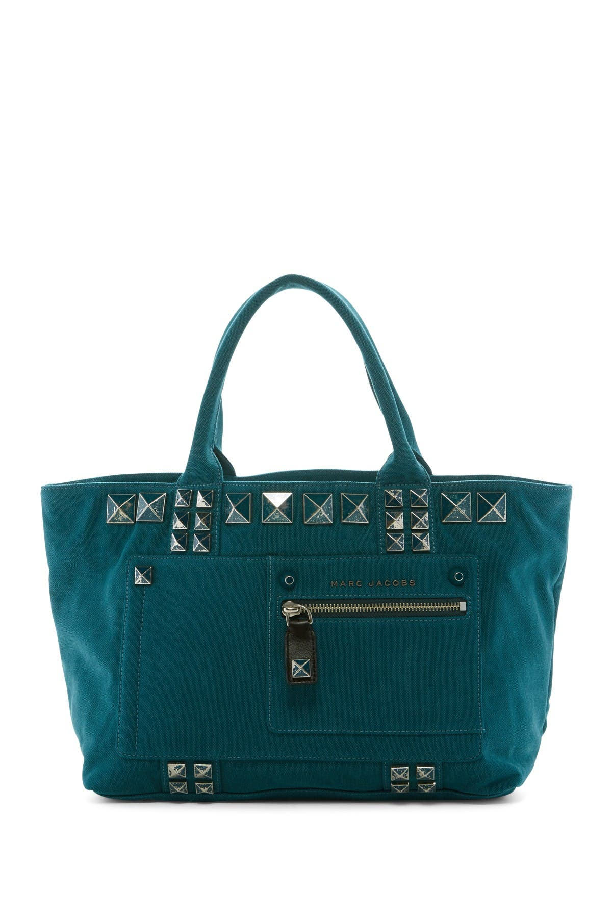 Image of Marc Jacobs Canvas Chipped Studs Tote