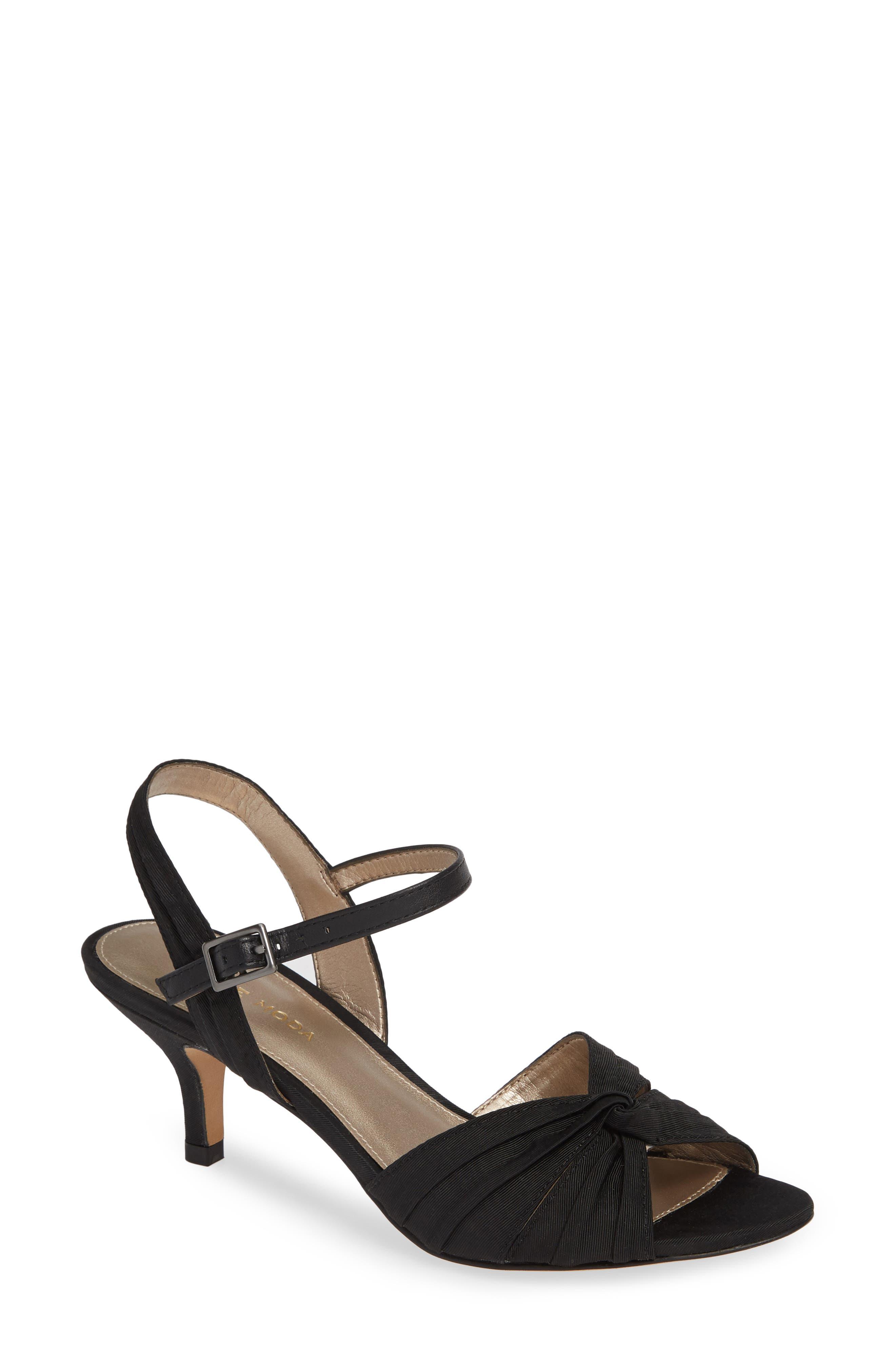 Pelle Moda Iliza Sandal- Black